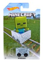 Hot Wheels Minecraft Zombie Vehicle