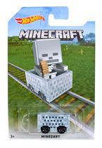 Hot Wheels Minecraft Skeleton Vehicle