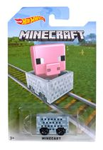 Hot Wheels Minecraft Pig Vehicle