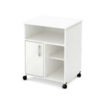 Rangement à imprimante collection Smart Basics de Meubles South Shore Blanc