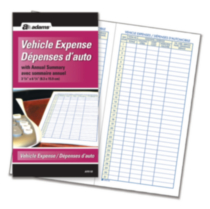 "Vehicle Expense Journal Bilingual, 3-1/4"" x 6-1/4"""