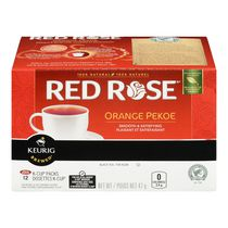 Red Rose® Orange Pekoe K-Cup Packs Black Tea