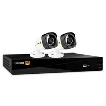 Defender® HD 1080p 4 Channel 1TB DVR Security System and 2 Bullet Cameras