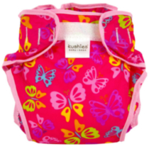 Infant Taffeta Diaper Wrap - Girl