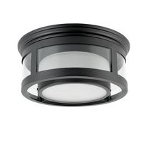 "Globe Electric 13"" Outdoor Flush Mount"