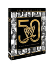WWE 2013 - History Of The WWE - 50 Years of Sports Entertainment - DVD