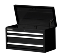 "27"" 3-Drawer Ball Bearing Slides Top Chest WRT-2703BK"