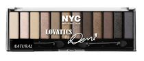 NYC New York Color Lovatics by Demi Eyeshadow Palette