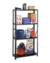 4 Shelf all steel bolted storage rack
