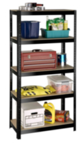 5 tier metal shelf