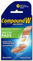Compound W Maximum Strength One Step Pads