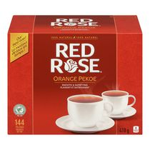 Sachets de thé Orange Pekoe de Red Rose®, paq. de 144