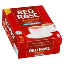 Sachets de thé Orange Pekoe décaféiné de Red Rose®, paq. de 48
