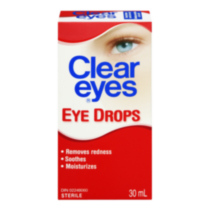 Clear Eyes Eye Drops 30ml