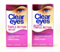 CLEAR EYES Triple Action