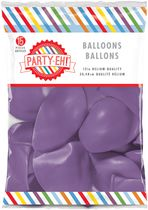 "PARTY-EH! 12"" Helium Quality Latex Balloons Purple"