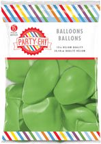 "PARTY-EH! 12"" Helium Quality Latex Balloons Green"