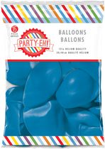 "PARTY-EH! 12"" Helium Quality Latex Balloons Blue"