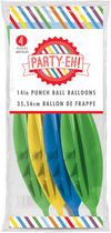 "PARTY-EH! 14"" Latex Punch Ball Balloons"