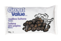Great Value Seedless Sultana Raisins