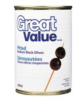 Great Value Pitted Black Olives