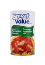 Great Value Grated Parmesan Cheese