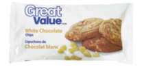 Great Value White Chocolate Chips