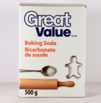 Bicarbonate de soude Great Value 500g