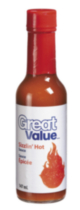 Great Value Sizzlin' Hot Sauce