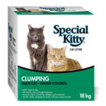 Special Kitty Clumping Multi-Cat Odour Control Cat Litter 18 kg