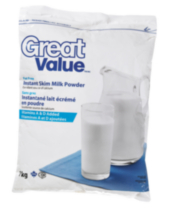 Great Value Instant Skim Milk Powder