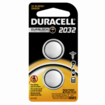 Duracell Coin Button 2032 Batteries, 2 Count