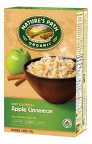 Nature's Path Organic Hot Oatmeal Apple Cinnamon