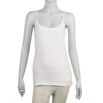 g:21 Women's Cotton Blend Cami White L