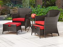 hometrends Tuscany 5 Piece Chat Set