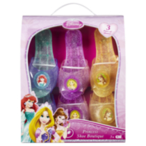 Disney Princess Shoe Boutique (3-Pack Shoes)