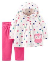 Child of Mine made by Carter's Newborn Girl's Owl Printed 2-Piece Outfit Set 18M