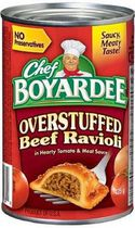 Chef Boyardee® Overstuffed Beef Ravioli In Hearty Tomato and Meat Sauce
