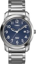 Timex® Williamsburg Mens' Silver Classic Watch