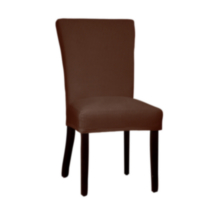 Montgomery II Dining Chair Stretch Slipcover Brown