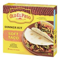 Ensemble à tacos souples Old El Paso