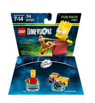 Lego Dimensions: The Simpsons Bart Fun Pack