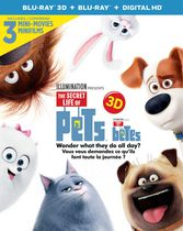The Secret Life Of Pets (Blu-ray 3D + Blu-ray + Digital HD) (Bilingual)