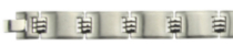 Men's Brushed Stainless Steel Bracelet