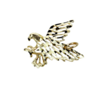 10kt Gold Men's Eagle Charm