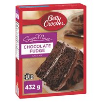 Mélange à gâteau SuperMoistMc de Betty CrockerMC - Fondant au chocolat