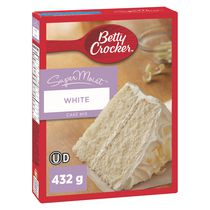 Mélange à gateau SuperMoistMC de Betty Crocker - Blanc