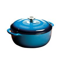 Lodge® Blue Enamel Dutch Oven, 7.5 Qt