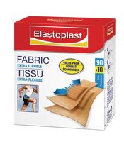 Elastoplast Fabric Extra Flexible Bandages 90+10