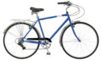 700c Mens City Bike